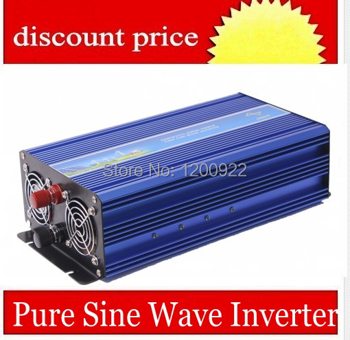 Hot Sale solar inverter 2000w pure sine wave off grid tie inverters dc 12v24v48v input to ac 220v output(China (Mainland))