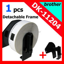 100x Rolls Brother Compatible label DK-11204 dk 11204 dk11204 include the black plastic permanent cartridge