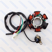 GY6 50cc Moped Scooter Magneto Stator 6 Coils(China (Mainland))