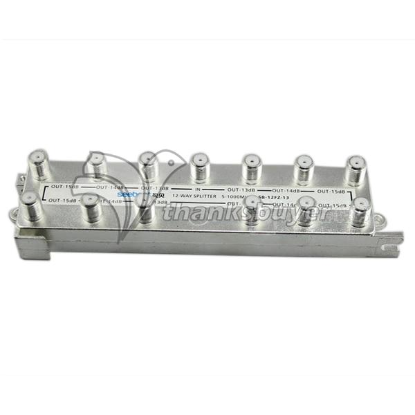 SB-12FZ 12 Way 5-1000MHz Distributor Cable TV Signal Splitter for Trunk Branch Distribution(China (Mainland))
