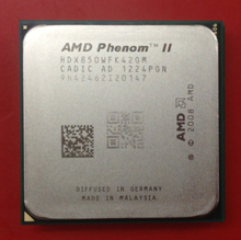 Buy AMD Phenom II X4 850 x4 850 850 CPU Processor Quad-Core (3.3Ghz/ 4M /95W )Socket AM3 AM2+ 938 pin 100% work for $39.60 in AliExpress store