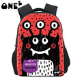 ONE2 Unique Design 3D Printing children school bags for kindergarten use custom name for the school