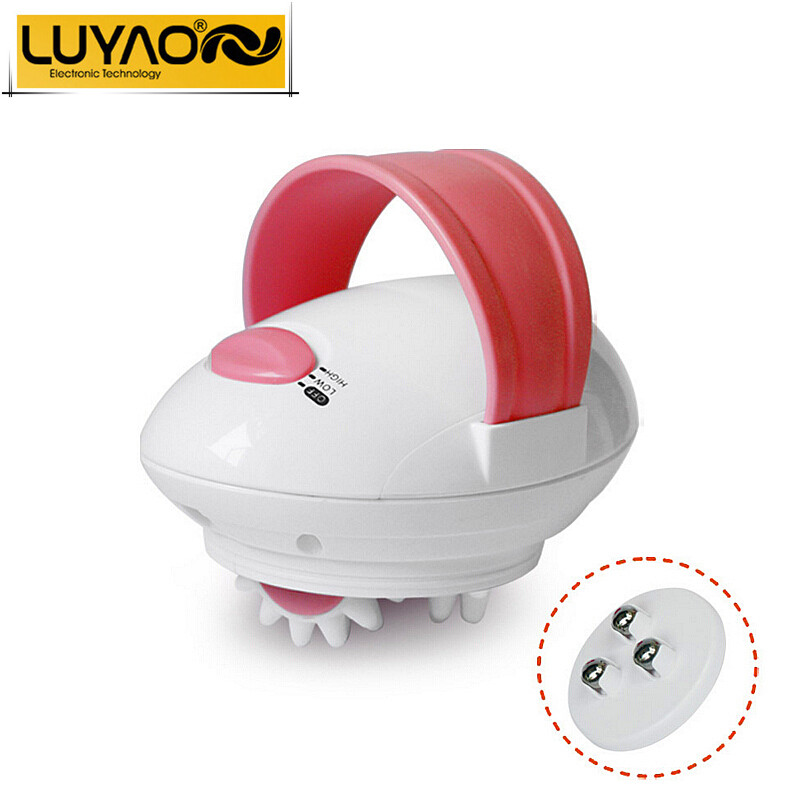 LUYAO Vibrating electric body massager infrared.Loss weight slimming machine.Face roller massager.Body massager anti cellulite.(China (Mainland))