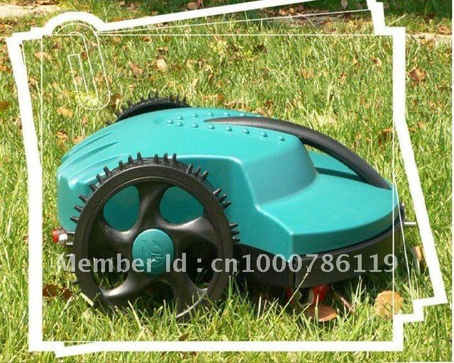 Free Shipping The Cheapest Robot Lwan Mower+Remote Controller+Li-ion Battery
