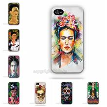 Fab Ciraolo Frida Kahlo Woman Skull Case For Apple iPhone 6 Plus 5.5″ Hard Plastic Mobile Phone Protective Cover Accessories