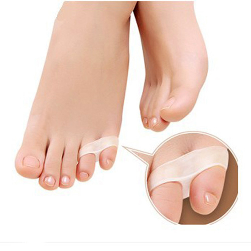 20PCS  Little toe thumb for daily use Silicone gel Toe bunion guard footcare little toe finger toe separator free shipping<br><br>Aliexpress