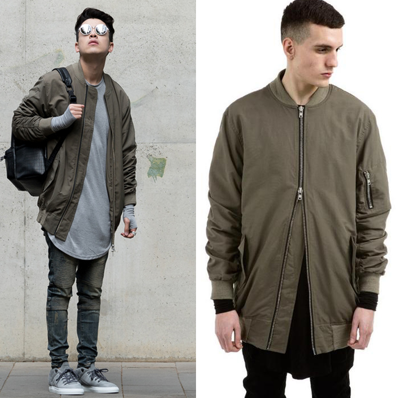 Green Mens Coat | Down Coat