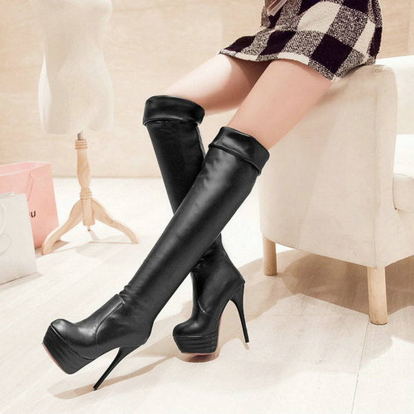 Simple Com  Buy 2015 Fashion Casual High Heel Women Shoes Platform Shoes