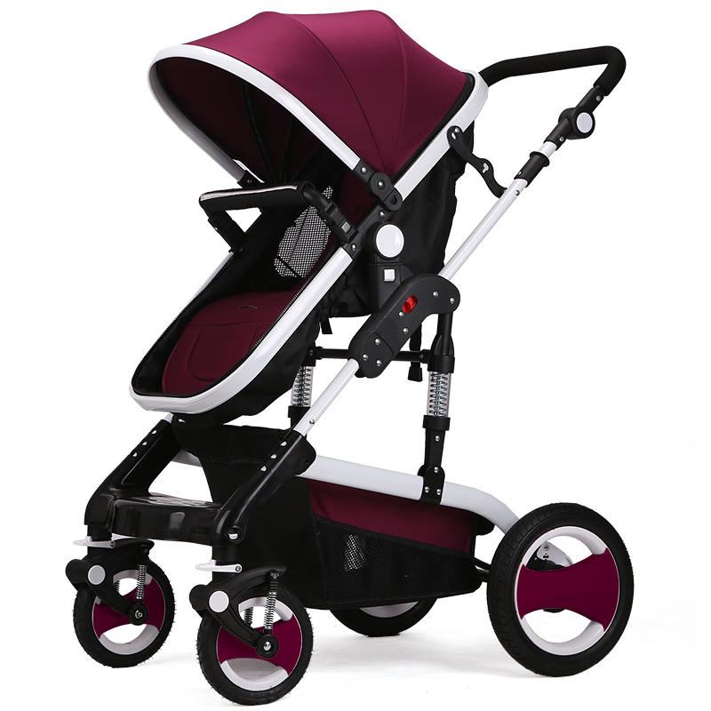 New Carriage Seat ~ New design luxury baby stroller foldable cart