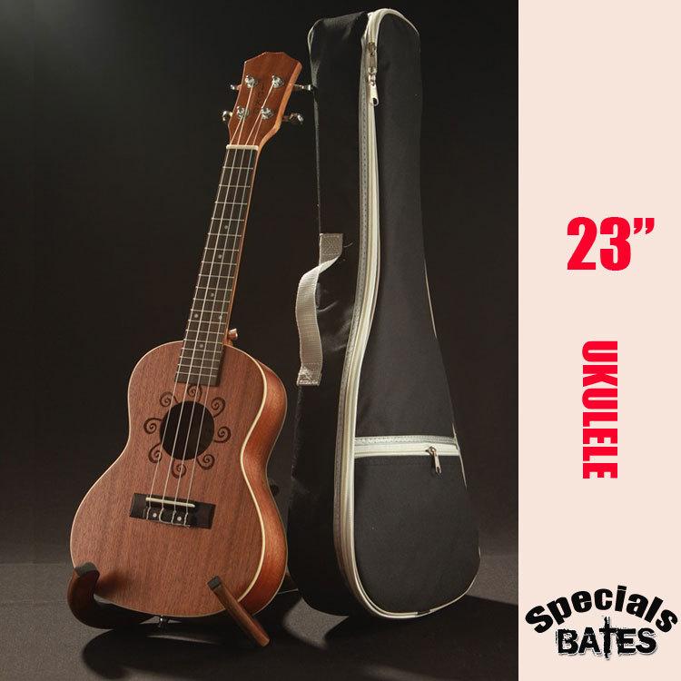 """Фотография IUKU uk-24  NEW  23""""  Billy ukulele wood color guitar free shipping"""