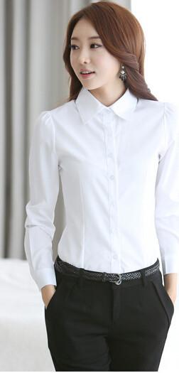 Белые блузки рубашки женские фото