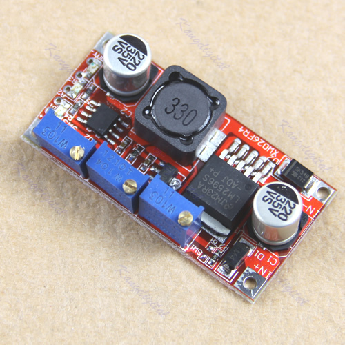 F85 Free Shipping 1PC LM2596 LED Driver DC-DC Step-down Adjustable CC/CV Power Supply Module(China (Mainland))