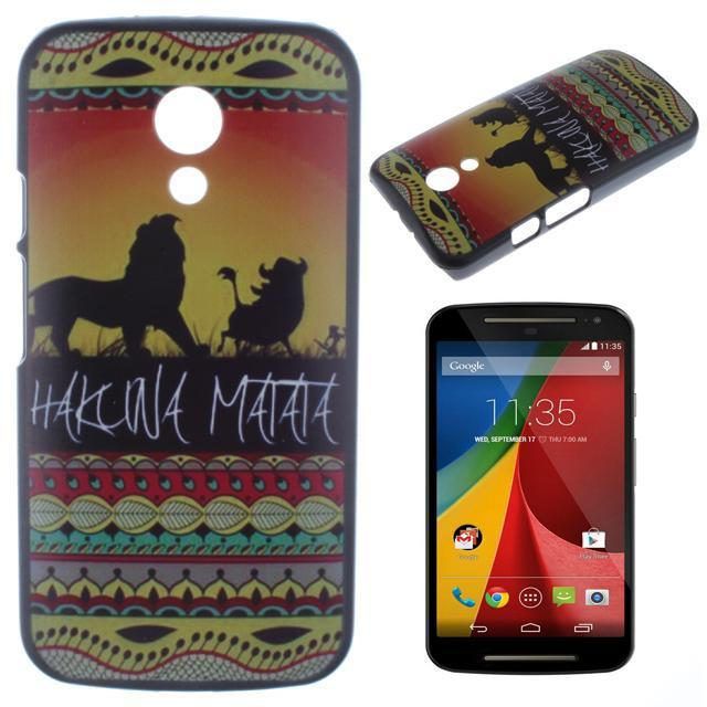 colorful creative mobile phone case protective hard Back cover Motorola Moto G2 XT1068 /XT1069 - shenzhen yida Technology Co.,LTD. store