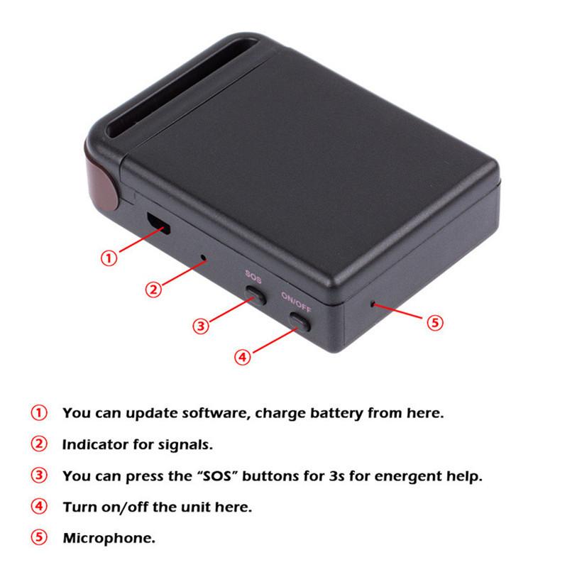 Superior Mini SPY Vehicle GSM GPRS GPS Tracker or Car Vehicle Tracking Locator Device TK102B July24