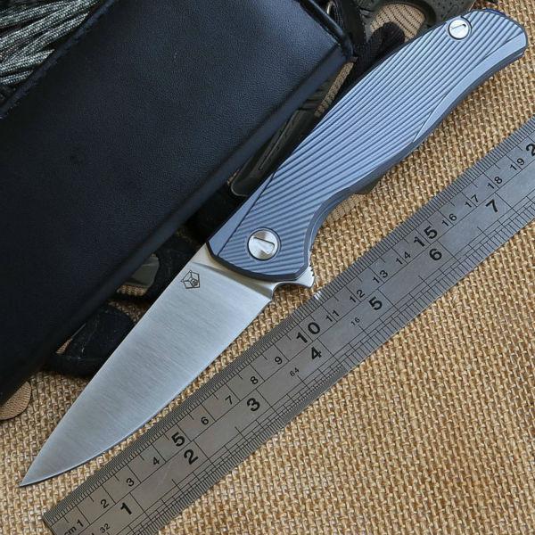 Гаджет  F95 IceBreaker Tactical bearing Flipper 95 folding D2 blade Titanium handle camp hunting outdoors survival knife tool  None Инструменты