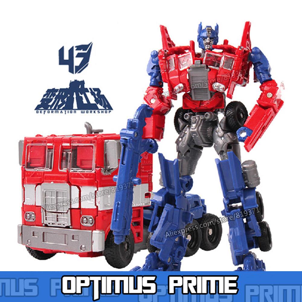 Hot Original Box Transformation 4 Anime Optimus Prime Bumblebee Grimlock Cars Brinquedos Robot Action Figures Kids Toys Juguetes(China (Mainland))