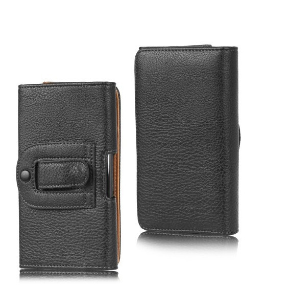 In Stock Belt Clip Holster Luxury Leather Magnet Flip Case Skin Cover Bag for Lenovo A889 3G Smartphone Android 4.2 6 inch(China (Mainland))