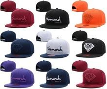 2015 New Design Wine Red Diamond Hat Baseball HipHop Snapback Sport Cap Cheap Men Women  LK Adjustable Wholesale Free Shipping(China (Mainland))