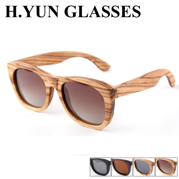 Free Shipping wholesale wood sunglasses men polarized sunglasses high quality metal hinge mens wood sun glasses hot sale(China (Mainland))