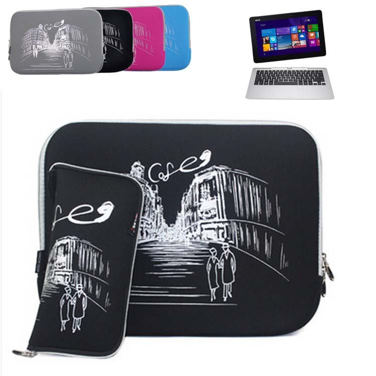 Slim Neoprene Sleeve Protective Skin Laptop Bag Computer Case Cover for ASUS Transformer Book T200TA T200/ Trio TX201LA 11.6''(China (Mainland))