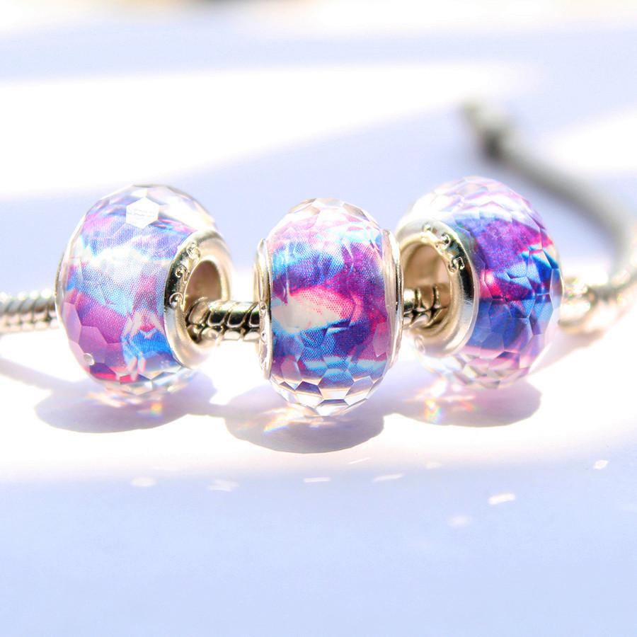 1pc free shipping DIY 15mm resin Beads fit European Pandora style Bracelet Charms Jewelry-9(China (Mainland))