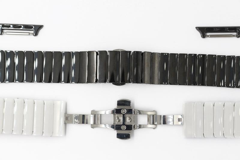 URVOI группа для apple watch керамическая издание iwatch фарфор ремешок наручные высокое качество полная керамические с адаптерами группа белый черный