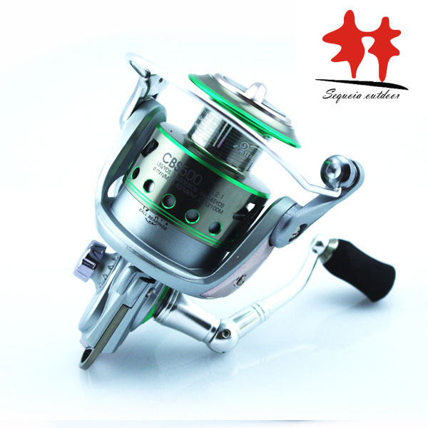 NEW 2014 DISCOUNT!! Teben CBS 500 Saltwater spinning fishing reel stainless metal Fishing Gears for ice fishing 7+1BB 5.2:1<br><br>Aliexpress