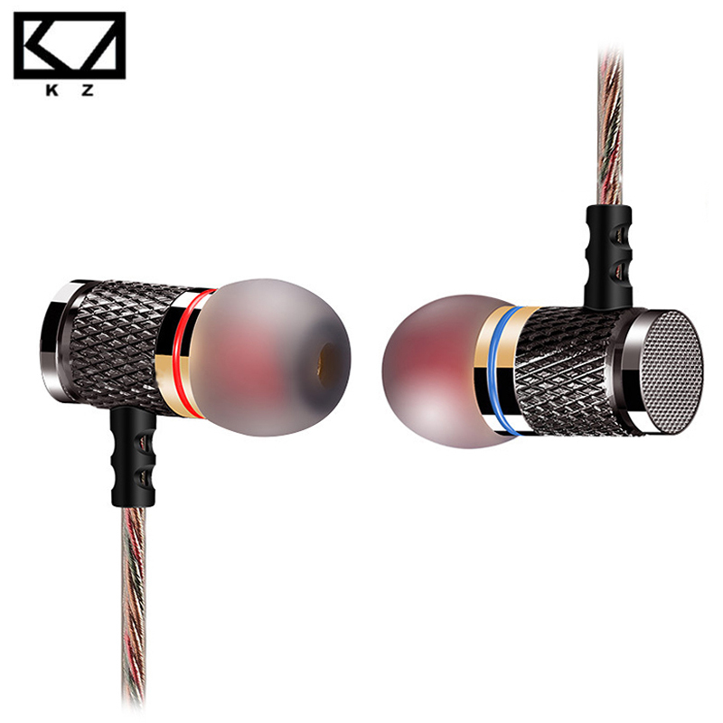 KZ-ED2 Earphones Professional in-ear Headset Metal Heavy Bass Sound Quality mp3 DJ Music audifonos fone de ouvido auriculares(China (Mainland))