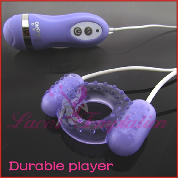 Гаджет  unisex products omysky Durable player 10 speed dual vibrating eggs delay cock rings vibrating penis rings silicone sex toys None Красота и здоровье