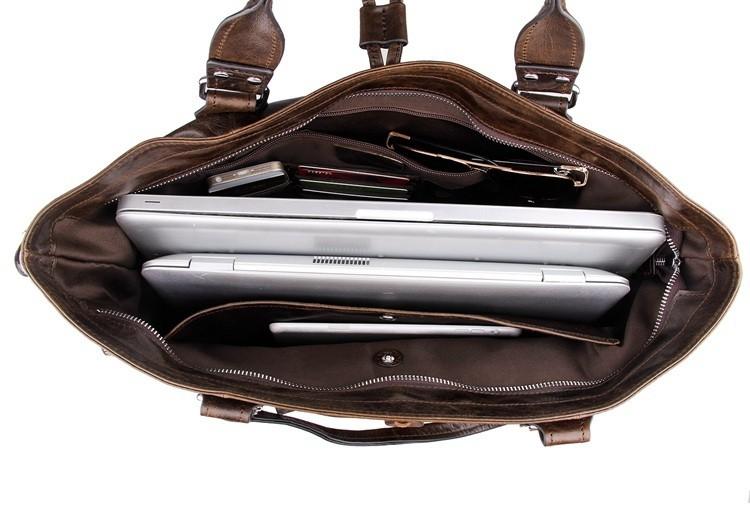 ซื้อ วินเทจกาแฟ100%รับประกันจริงผิวหนังแท้ผู้หญิงของMessengerกระเป๋าCowhideกระเป๋าถือผู้หญิง# M7251