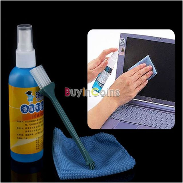 Laptop LCD Monitor Plasma Screen Cleaner Cleaning Kit #3182