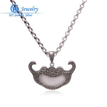 thailand silver 925 sterling silver pendants clearance sale bijoux femme plaque or factory wholesale PET510