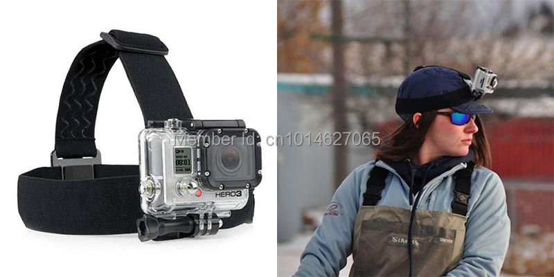 Gopro Accessories Head Hand Body Camera Strap For Gopro Hero 4 session 3+ SJ4000 SJ5000 sj7000 xiaomi yi 2 4K Eken Action Cam