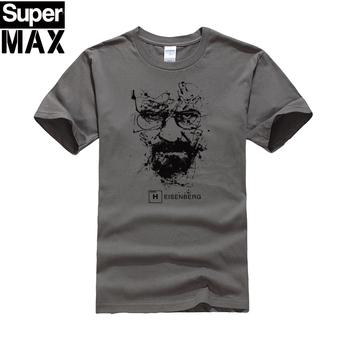 CXT03-C1 Top quality COTTON o neck heisenberg men tshirt short sleeve print casual breaking bad print T shirt for men 2015