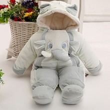 New winter newborn baby romper baby girl boy thicking warm outwear  jumpsuit brand baby snowsuit cotton rompers infant costume(China (Mainland))