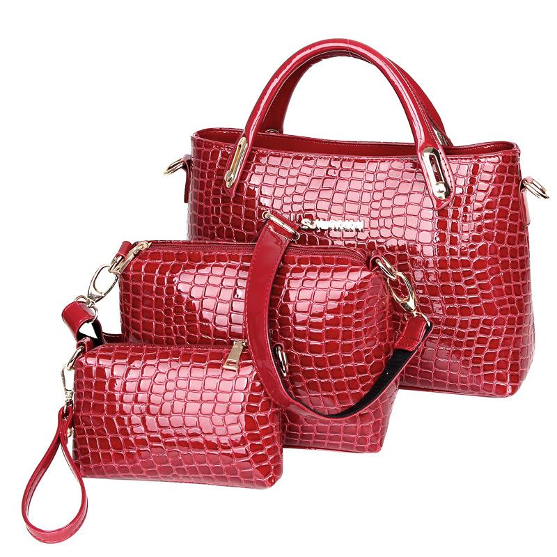 Women Leather Handbags Tote Clutch Bag Shoulder Bags Bolsas Femininas Bolsas De Marcas Famosas Designer Luxury Brand Crossbody<br><br>Aliexpress