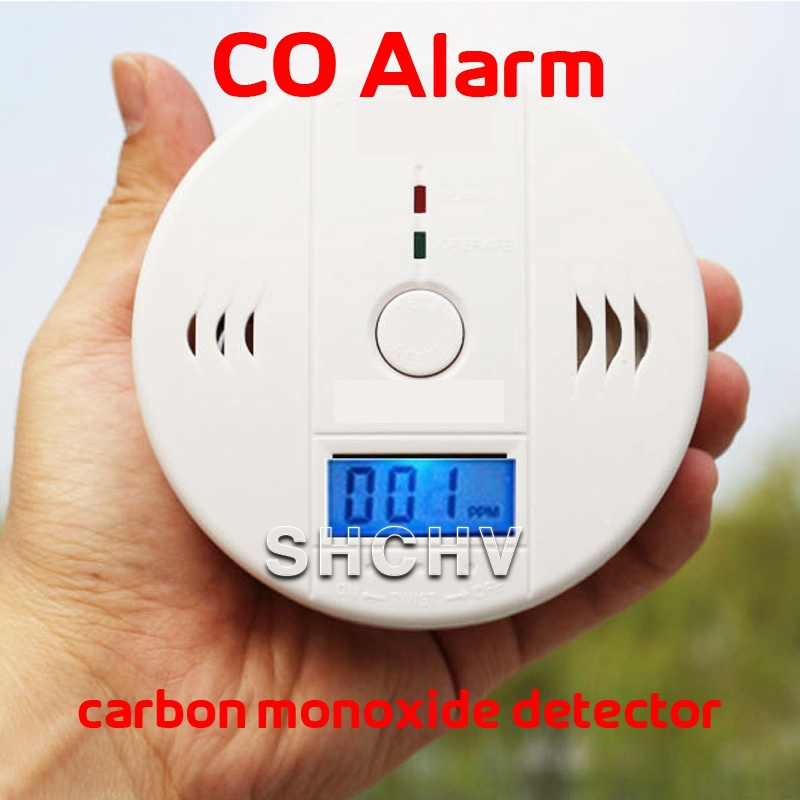 carbon monoxide detecteor lcd displayer stable photoelectric wireless smoke detector high. Black Bedroom Furniture Sets. Home Design Ideas