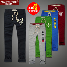 women/men hollisticly brand trousers ombi women/men sports jogger pants masculinas casual sweatpants abercr(China (Mainland))