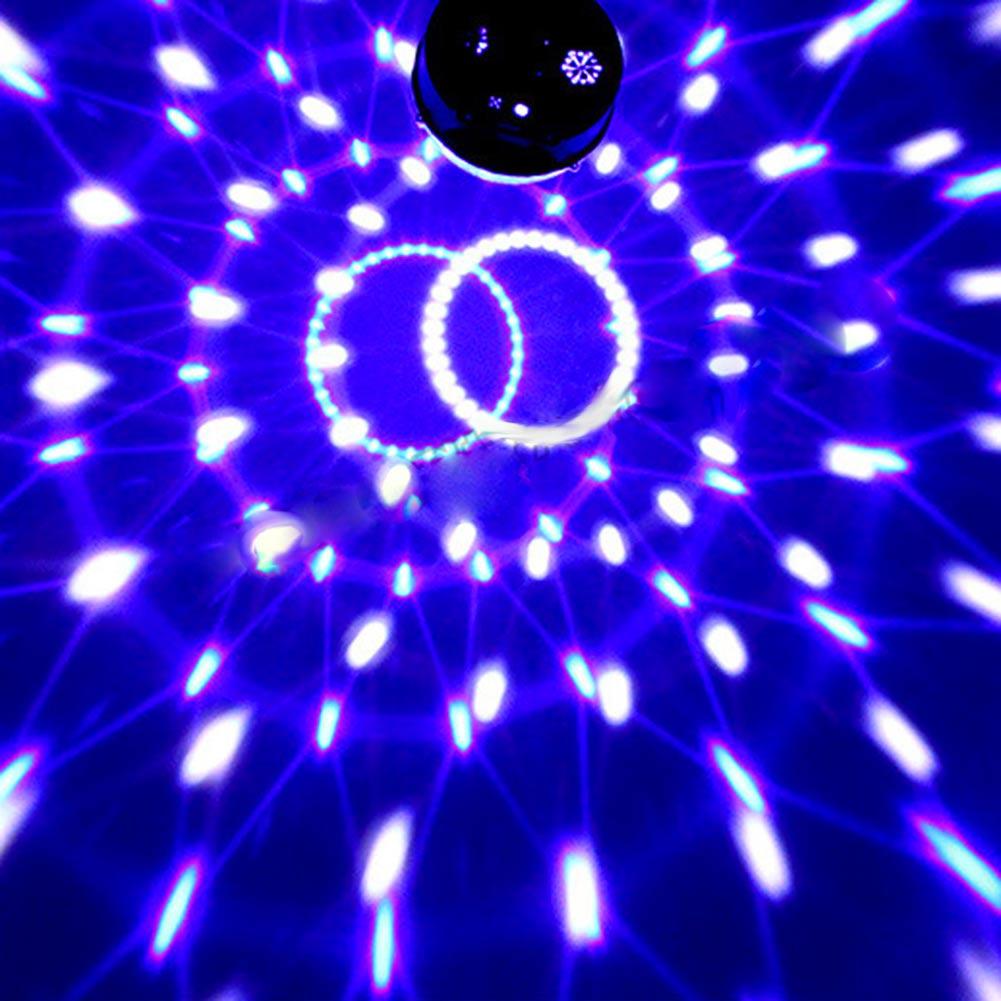 Купить Профессиональный Голос Cotrol Свет Этапа MP3-ИК-ПУЛЬТ Дистанционного Цифровой RGB СВЕТОДИОДНЫЕ Кристалл Magic Ball DJ Партии Дискотека Свет Этапа Sound Active