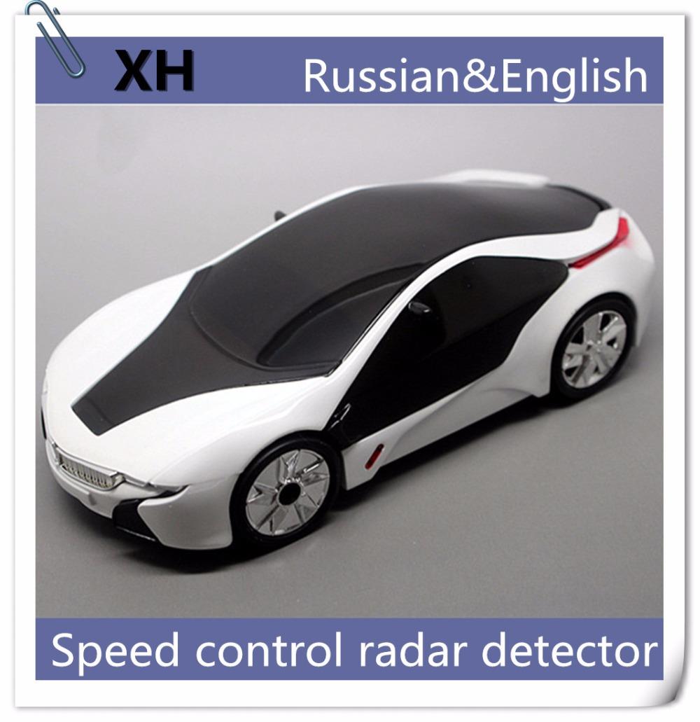 Hot Sale Anti Radar Car Detector Speed Strelka anti police radar detector russian for speed test factory promotion(China (Mainland))
