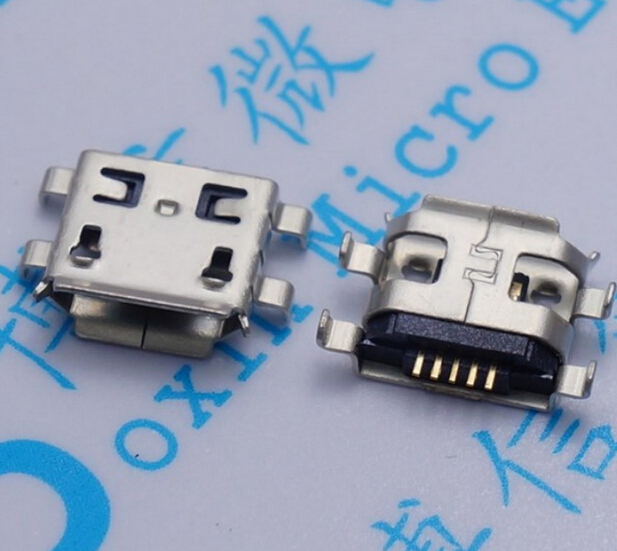 10pcs Micro USB 5pin B type 0 8mm Female Connector For Mobile Phone Mini USB Jack