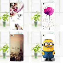 for Lenovo A858T phone bag pouch Cute Cartoon New Soft TPU silicone painting protective back case cover WW-B