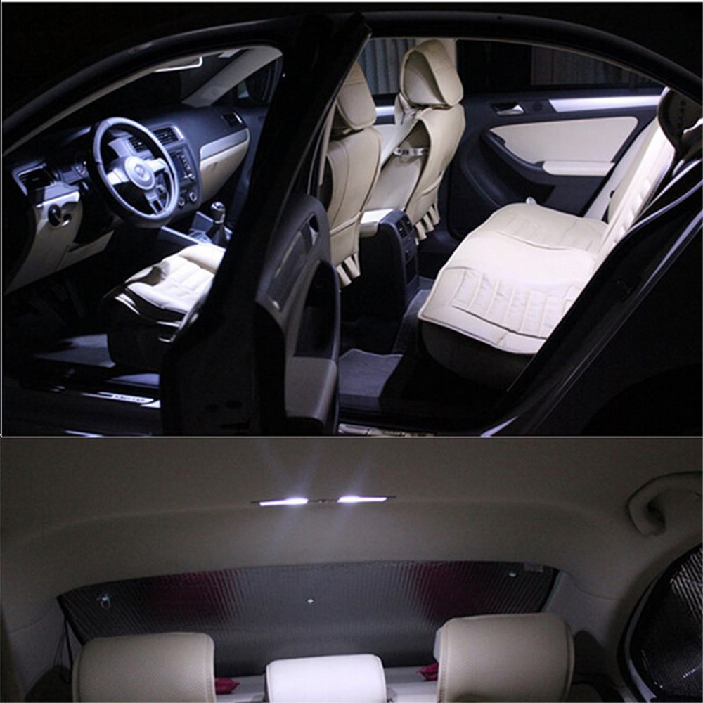 7pc For Audi A3 S3 8p 2006 2013 Canbus Led Interior Light Kit Package Interior Car Light