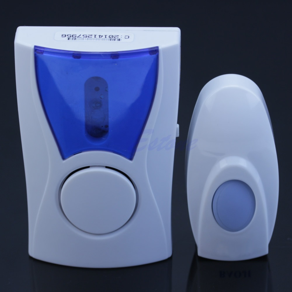 A96 Free Shipping Wireless Cordless Digital Door Bell Remote Control Chime Ring Range 100M 32 Song<br><br>Aliexpress