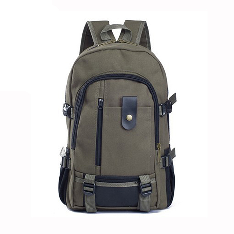 COUPON dark green bottle casual Canvas travel Vintage Backpacks Teenagers Men Middle Students School unisex Women Backpack Bags(China (Mainland))