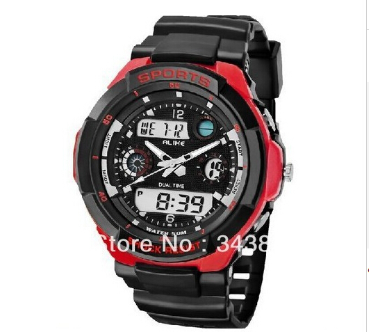 Promotion Coupon2014 50m Waterproof Resistant Sports Men Digital Watch Diver Swimming Outdoor Male Dress Wristwatch Clock - 2014 New Fortune Store store
