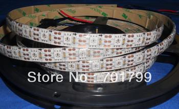 4m DC5V 60leds/m(60pixels) WS2812 led digital strip,waterproof by silicon coating,IP65