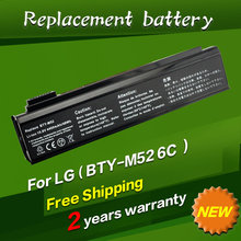 4400mah 11.1v Laptop Battery For LG K1 series 925C2240F BTY-M52 K1-113PR K1-2224A K1-2333V K1-323WG K1-323MA K1-2333V 6Cells