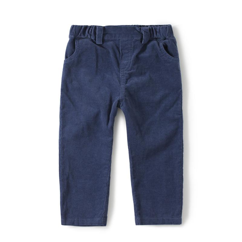 GOTS Certificate Wholesale 6pcs Children Kids organic cotton Corduroy Straight pants Pockets Elastic Waist<br><br>Aliexpress