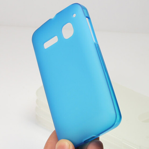 Transparent Soft Jelly Candy TPU Gel S line TPU Skin Cover Case For Alcatel One Touch Pop C3 OT4033 4033A 4033X 4033D(China (Mainland))